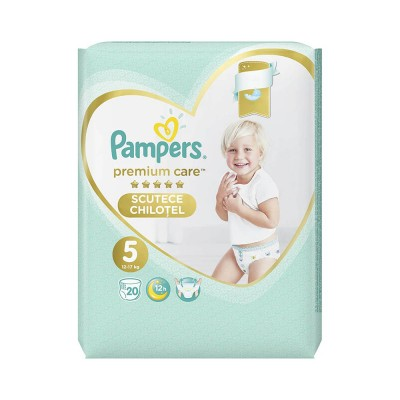 Pampers Nr. 5 Premium Care Pants 12-17 kg x 20