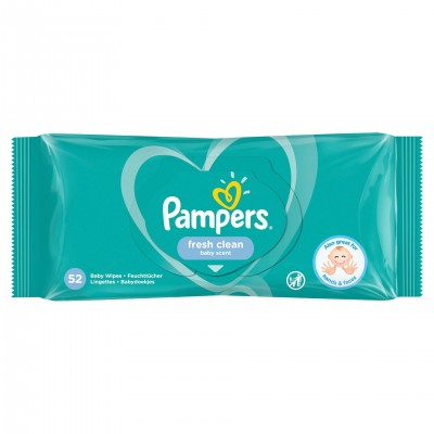 Pampers Servetele Baby Fresh Single x 52