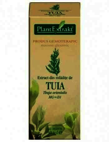 Plant E Extract Mladite de Thuja x 50 ml