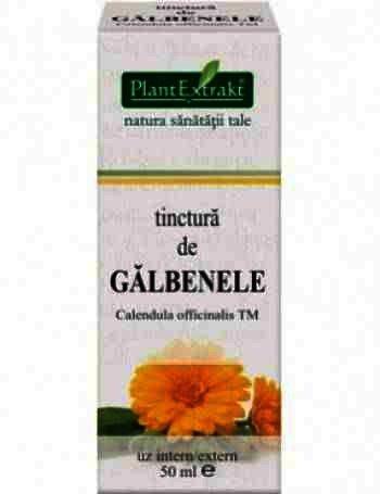 Plant E Tinctura Galbenele 30ml