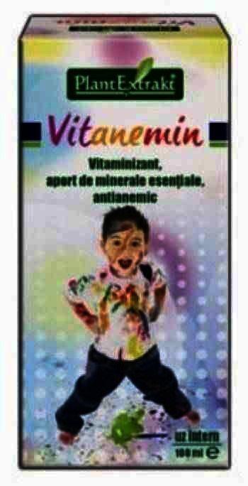 Plant E Vitanemin -sirop x 100 ml