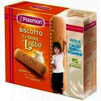 Plasmon Biscuiti Crema de Lapte +12 luni x 300 g