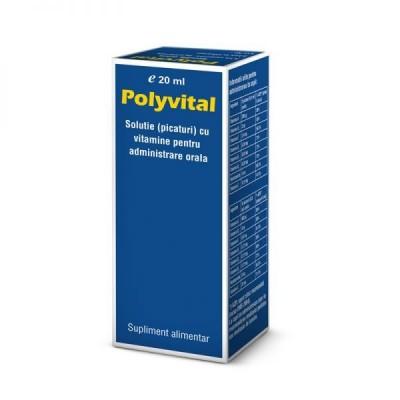 Polyvital picaturi 20ml-Pharco