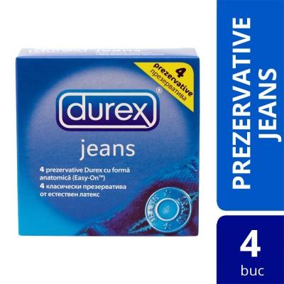 Prezervative Durex Jeans 4 buc