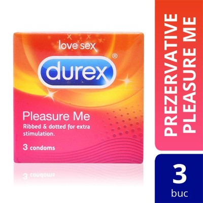 Prezervative Durex Pleasure Me, 3 buc