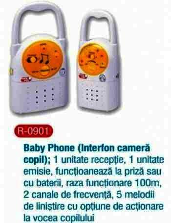 Primii Pasi Interfon Bebe RO901
