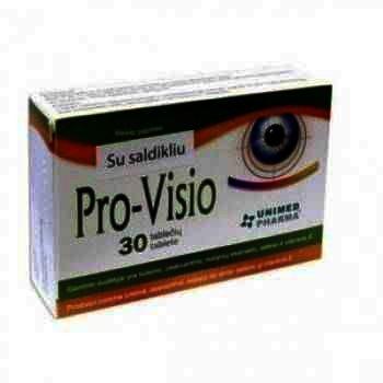 Pro-Visio -tb x 30 - Unimed pharma
