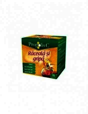 Propolis C Kids Raceala si Gripa - plc. x 8 + Magnet -Fiterman