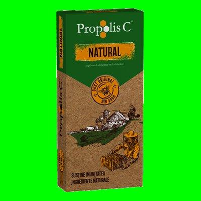 Propolis C® Natural, cpr. de supt