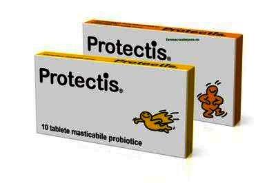 ProTectis, 10 tablete masticabile, Ewopharma