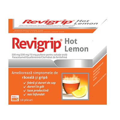 Revigrip Hot Lemon - plc. x 10