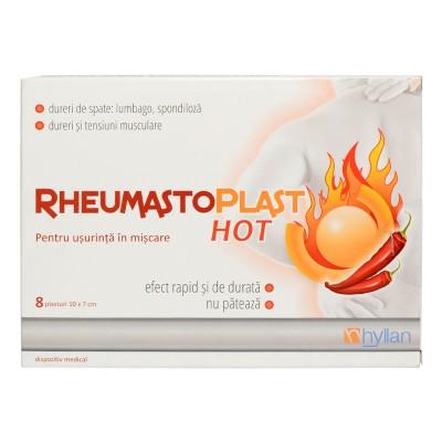 RheumastoPlast Hot Plasturi x 8