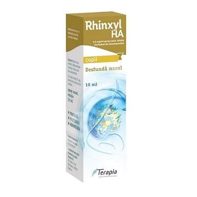 Rhinxyl HA 0.5mg/ml spray naz.sol x 1fl x 10ml - Terapia