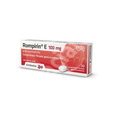 Rompirin E 100mg-cpr.film.gastrorez. x 30 -Antibiotice