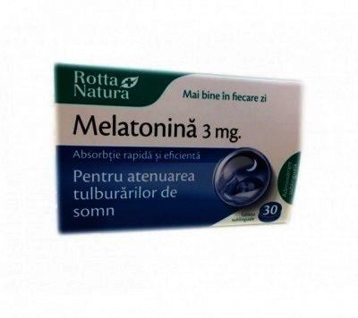 Rotta Natura Melatonina 3mg x 20