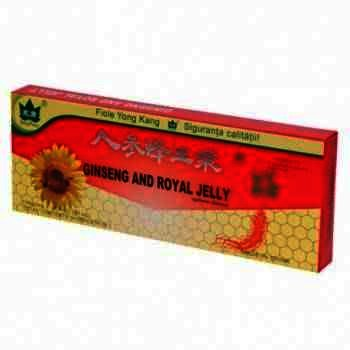 Royal Jelly Ginseng x 10 fiole