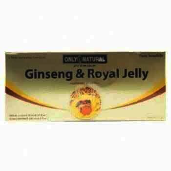 Royal Jelly Miere fiole x 10