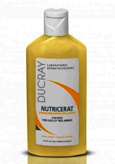 Sampon pentru par uscat si degradat Ducray Nutricerat, 200 ml