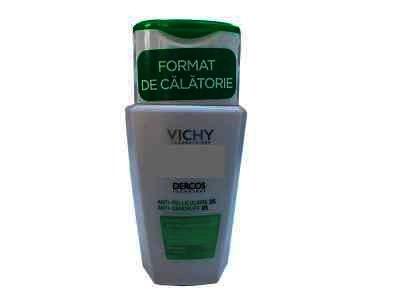 Sampon Vichy Dercos Antimătreață pentru păr normal-gras, 100ml