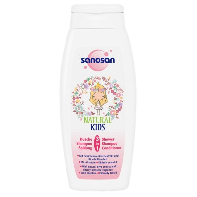 Sanosan Kids Dus-Sampon 3 in 1 x 250 ml