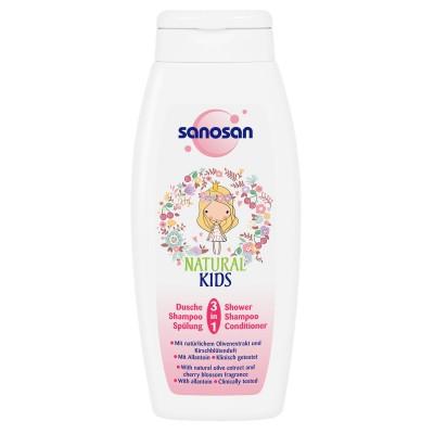 Sanosan Kids Dus-Sampon 3 in 1 x 250 ml