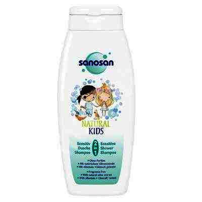 Sanosan Kids Dus-Sampon Senzitiv 2 in 1 x 250ml
