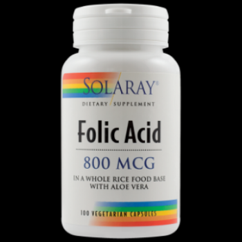 Secom Acid Folic 800 mcg -cps x 100