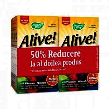 Secom Alive (fara fier) x 30 cps (1+1-50% oferta) - Natures Way