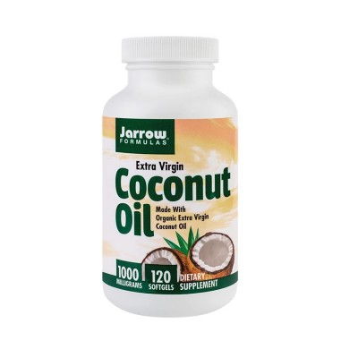 Secom Coconut Oil Extra Virgin 1000mg - cps. x 120