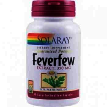 Secom Feverfew 350 mg -cps x 30