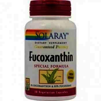 Secom Fucoxanthin x 30 - Solaray