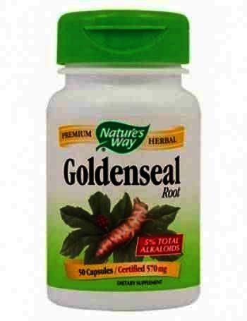 Secom GoldenSeal Root -cps x 50 - Natures Way