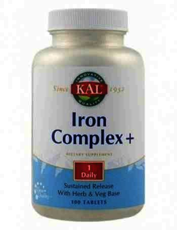 Secom Iron Complex+ -cpr. x 100