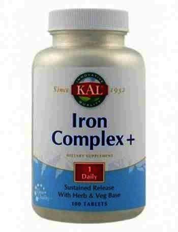 Secom Iron Complex+ -cpr. x 100