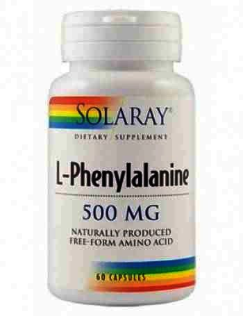 Secom L-Phenylalanine 500mg - cps. x 60