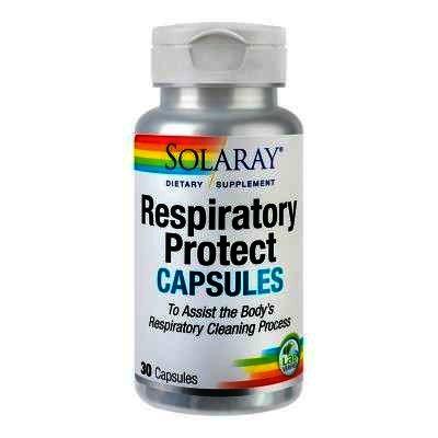 Respiratory Protect Capsules, 30 capsule vegetale, Solaray