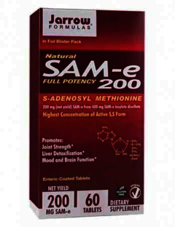 Secom Sam-E 200mg-cpr. x 60-Jarrow
