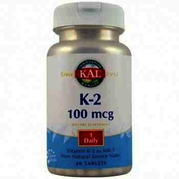Secom Vitamin K-2 100mcg - tb. x 60