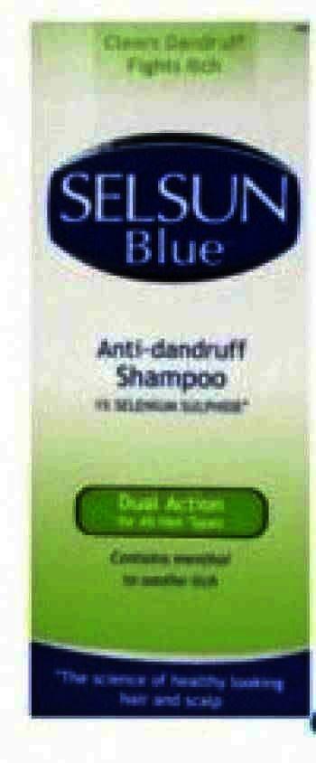 Selsun Blue Sampon Antimatreata Toate Tipurile de Par x 200 ml