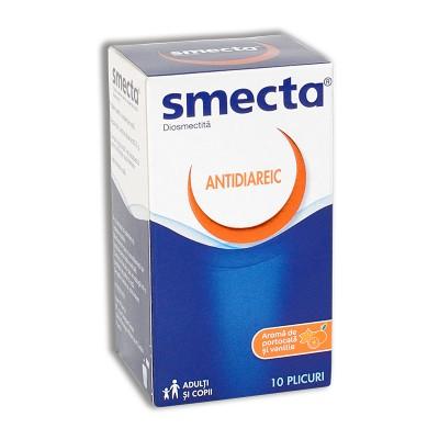 Smecta Orange plic 3g- x 10-Beaufour
