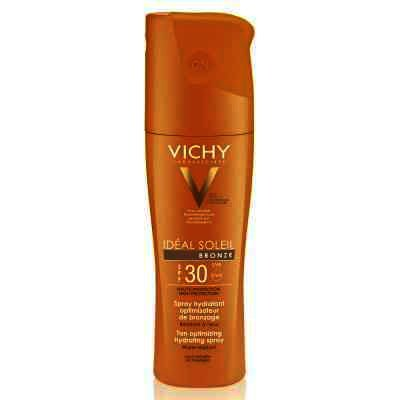 Spray hidratant Vichy Ideal Soleil Spray hidratant intensificator de bronz corp IP30, 200ml