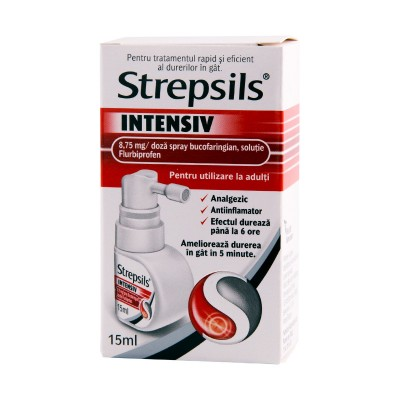 Strepsils Intensiv Spray x 15 ml