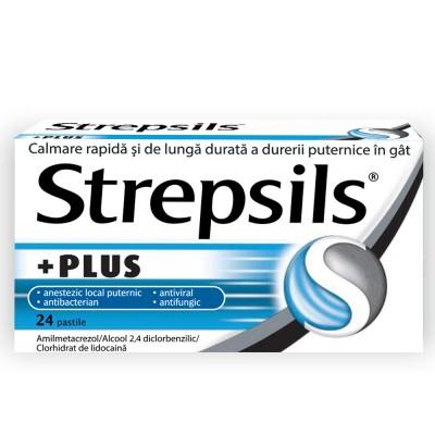 Strepsils Plus x 24 - Reckit (W66080004)