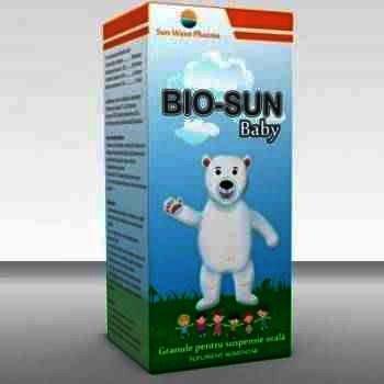 Sun Wave Bio-Sun Granule pt Suspensie x 5 g