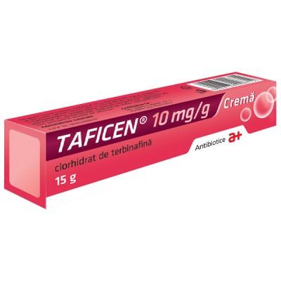 Taficen 10mg/g -crema x 15 g - Antibiotice