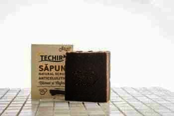 Techir Sapun Natural Scrub Anticelulitic x 120 g