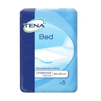 Tena Bed Normal Aleze 60 cm x 60 cm x 5 buc