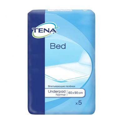 Tena Bed Normal Aleze 60 cm x 90 cm x 5 buc