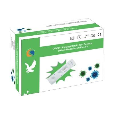 Test rapid COVID-19 (Coronavirus Sars-CoV-2) IgC / IgM, 25 teste