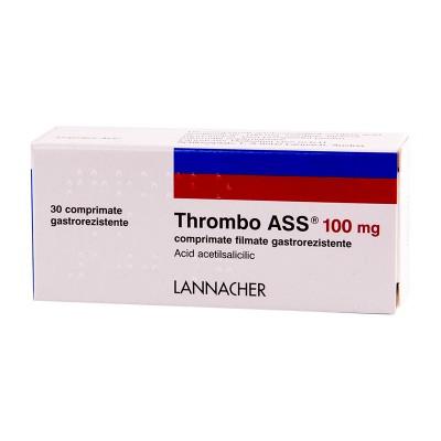 Thrombo Ass 100mg-cpr.film. x 30-Gerot Lannacher
